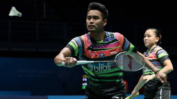 INDONESIA OPEN 2019 - Tontowi Ahmad Ulang Tahun, Ini Kado Istimewa dari Winny Oktavina Kandow