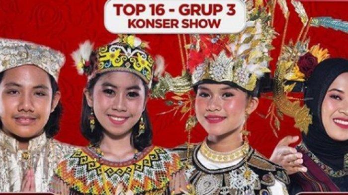 Result Show Top 16 LIDA 2021 Grup 3 Malam Ini, Siapa Tersenggol? Poling Sementara Ancam Evi Kaltim