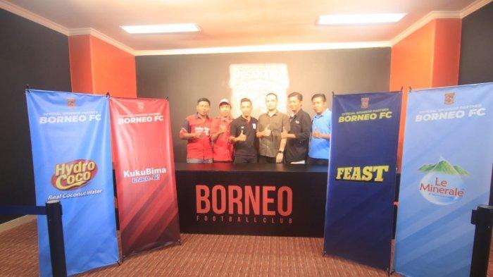 Borneo FC Samarinda Semakin Percaya Diri, 9 Sponsorship jadi Mitra, Ada Produk Asal Inggris