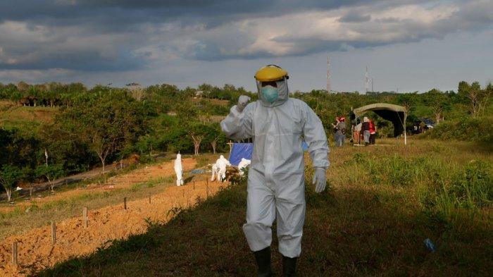 800 Jenazah Pasien Covid-19 Dimakamkan di Balikpapan Selama Pandemi