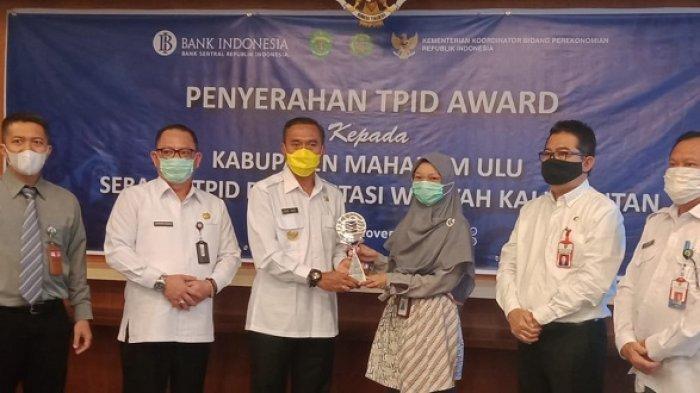 Satu-satunya di Kalimantan, Pemkab Mahulu Kembali Raih TPID Berprestasi dari Kemenko Perekonomian