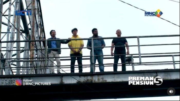 Trailer & Sinopsis Preman Pensiun 5 Episode 7 Mei 2021, Kang Mus dan Anak Buah ke Terminal, Perang?