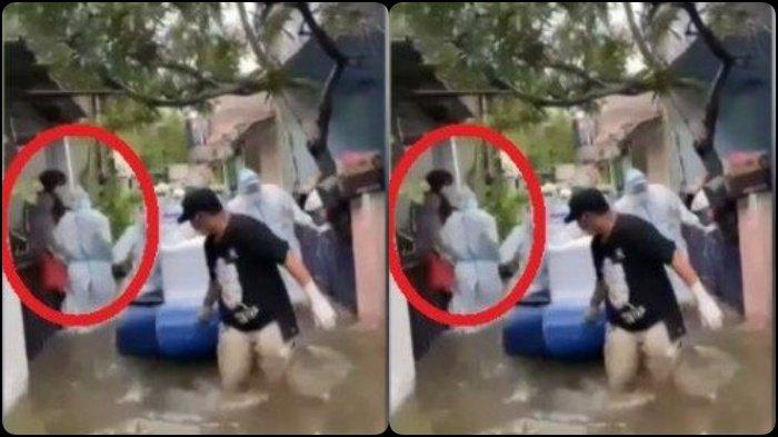 TRENDING Detik 35, Video Petugas Bawa Jenazah Covid saat Banjir Disorot, Mbah Mijan: Prasangka Baik
