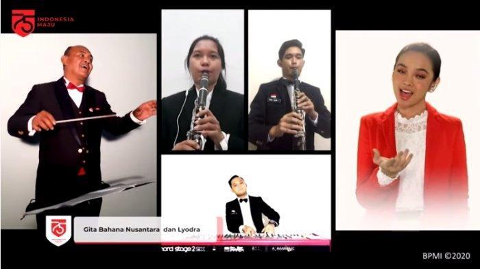 TRENDING, Tonton Penampilan Virtual Lyodra dan Paduan Suara Gita Bahana Nusantara HUT Ke-75 RI