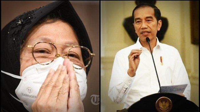 Tri Rismaharini dapat 2 jempol presiden Jokowi.