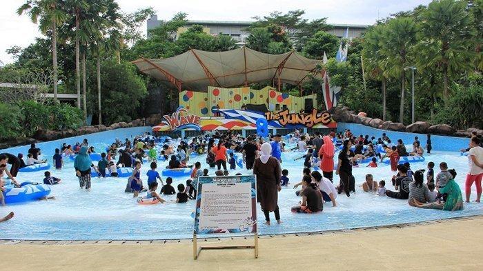4 Orang hanya Bayar Rp 100 Ribu, Ada Promo Tiket Masuk The Jungle Waterpark Bogor, Ini Syaratnya