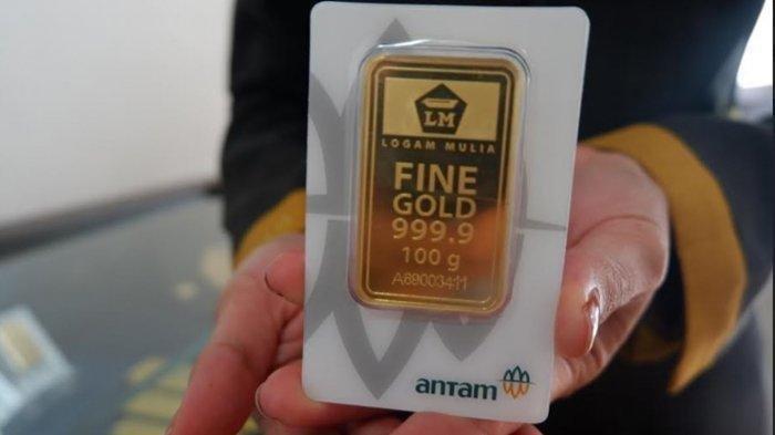 UPDATE Harga Emas Antam Rabu 23 Desember 2020, Turun Sebesar Rp 4.000 per Gram, Ini Rinciannya