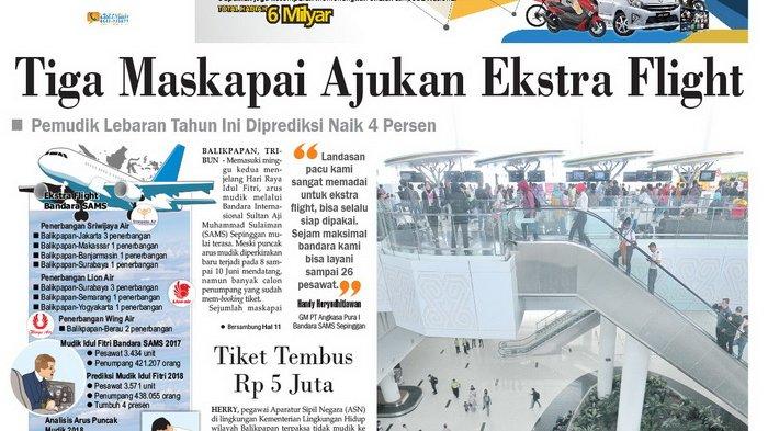 Tiket Pesawat Tembus Rp 5 Juta Tiga Maskapai Ajukan Ekstra Flight Dari Bandara Sams Halaman All Tribun Kaltim
