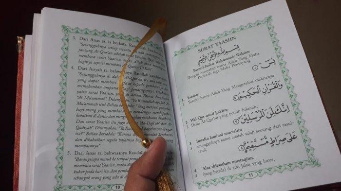 LENGKAP, Surat Yasin Ayat 1-83 dalam Bahasa Arab, Latin, dan Disertai dengan Artinya