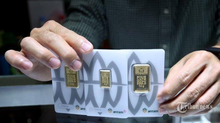 UPDATE Terbaru Harga Emas Antam Rabu 5 Mei 2021, Turun Rp 8.000 Per gram, Ini Rincian Lengkapnya