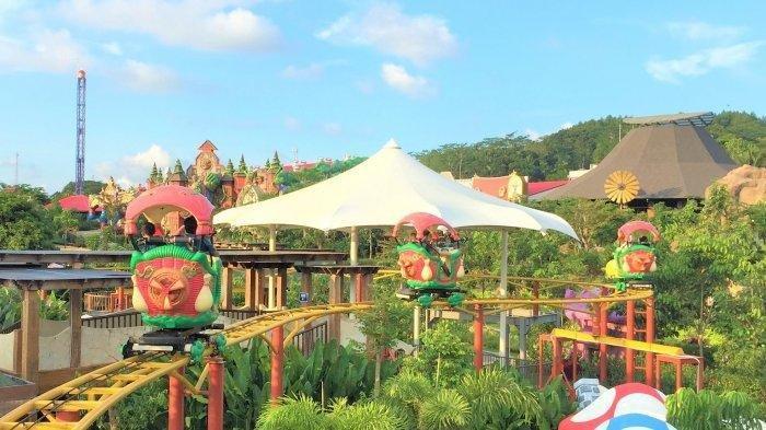Ingin Bermain Wahana di Saloka Theme Park Semarang, Sudah Dibuka, Ini Syarat Bagi Pengunjung