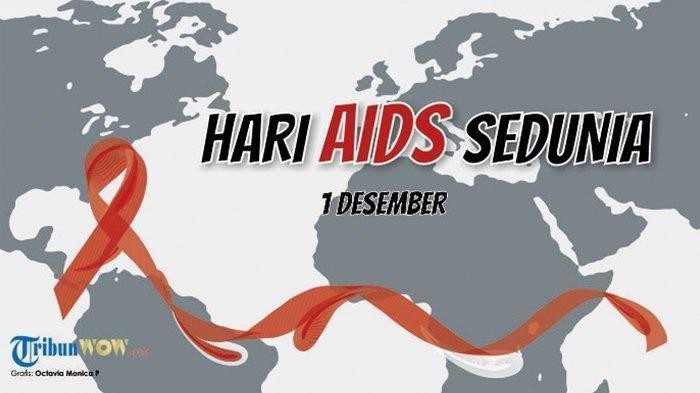 Bahan Hari Aids Sedunia 1 Desember Peringati Hari Aids Sedunia Kenali Lebih Dekat Fakta Dan Mitos Tentang Penyakit Hiv Aids Tribun Kaltim