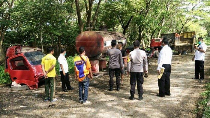 Polisi Beri Imbauan soal Larangan Parkir untuk Truk di Badan Jalan Kota Samarinda