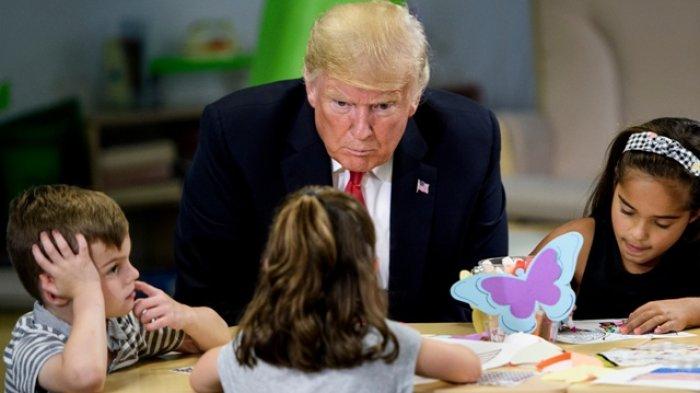 Berurusan dengan Kim, Donald Trump Sebut Dirinya Lebih Sabar Daripada Manusia Mana pun di Dunia