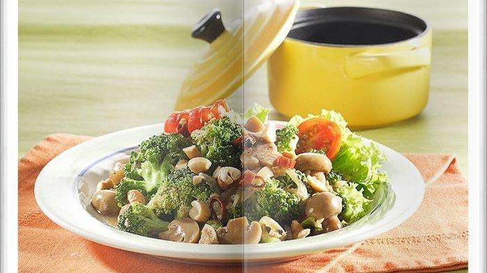 Cara Bikin Tumis Brokoli Tabur Kacang Mete, Menu Makan Siang Sehat yang Gampang Membuatnya