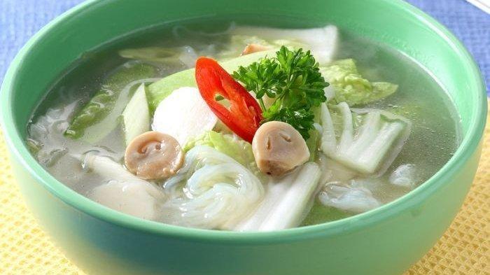 Resep Sup Sawi Putih, Menu Pelengkap Makan Malam Sederhana yang Rasanya Enak Banget