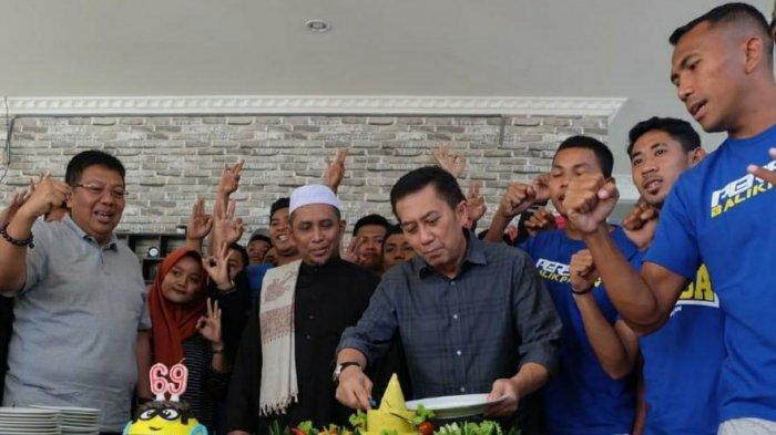 Sayid MN Fadli Ketua Harian Persiba Balikpapan Dapat Banjir Ucapan, Andre Dio: Semoga Sukses Selalu