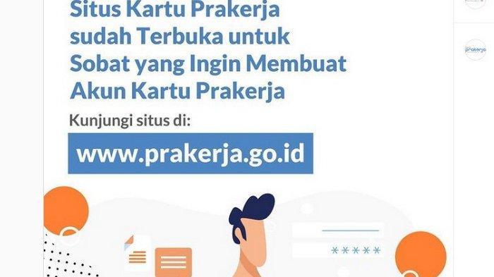 Buruan Login www.prakerja.go.id! Pendaftaran Kartu Prakerja Gelombang 12 Mau Ditutup, Ini Syaratnya
