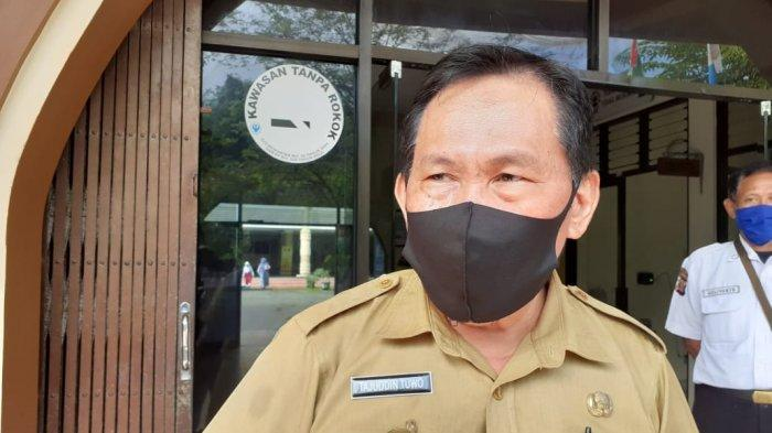 Kepala Dinas Pendidikan Kota Tarakan, Tajuddin Tuwo. TRIBUNKALTIM.CO, RISNAWATI