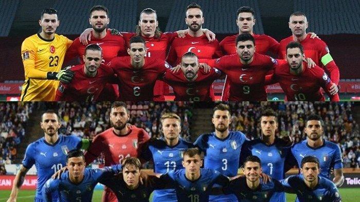 Prediksi & Jadwal Tayang Euro 2020: Turki vs Italia, Link Live Streaming RCTI dan Mola TV