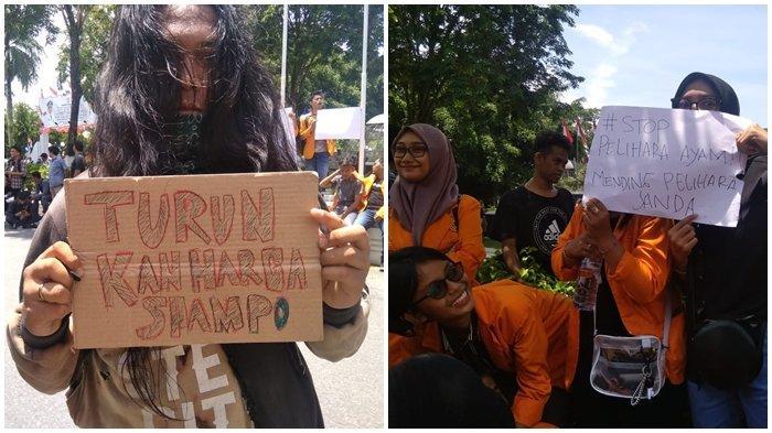 Meme Kocak Unjuk Rasa Mahasiswa di DPRD Balikpapan, Turunkan Harga Shampo Sampai Pelihara Janda