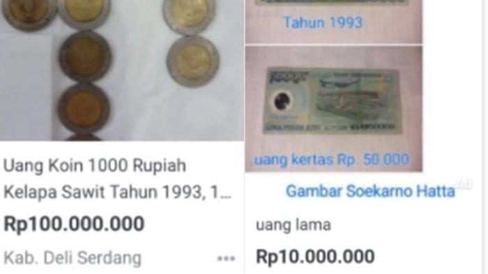 No Hoax! Uang Koin Rp 1000 Kelapa Sawit Dijual Ratusan Juta, Kini Dicari Uang Rp 50 Ribu Soeharto