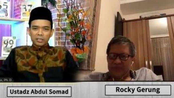 UAS Tertawa Dengar Jawaban Rocky Gerung Jika Jadi Presiden, Jokowi Diminta Lakukan Hal Unik