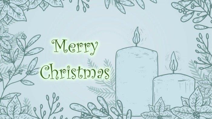 Ucapan Natal dan Tahun Baru 2021 Bahasa Indonesia & Inggris Lengkap Gambar, Kirim WA / Update Status