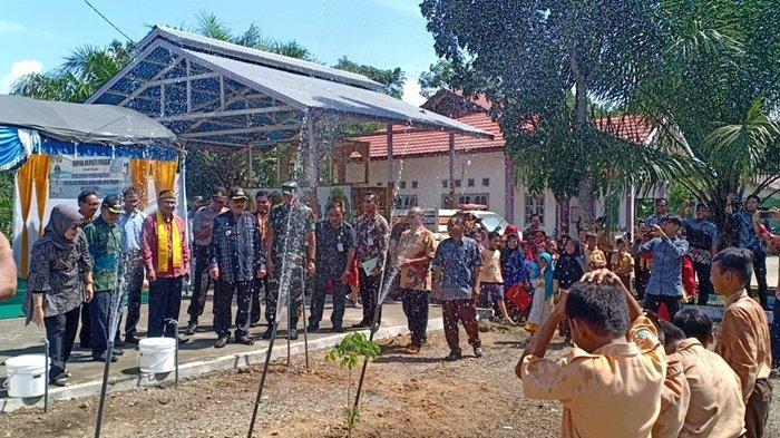 Setelah Listrik Nyala 24 Jam, Air Bersih Lengkapi Fasilitas Publik Masyarakat Muara Samu di Paser - uji-coba-wtp-pdam-unit-pelayanan-muara-samu.jpg