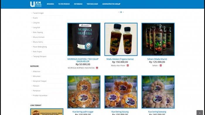 Aplikasi UKM TAKA Diluncurkan, Tempat Promosi dan Pemasaran Produk UMKM Paser
