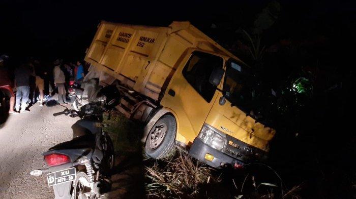 Kecelakaan Maut di Nunukan, Ibu Muda Beranak 1 Tewas Tertabrak Truk, Ayah Korban Cari Jenazahnya