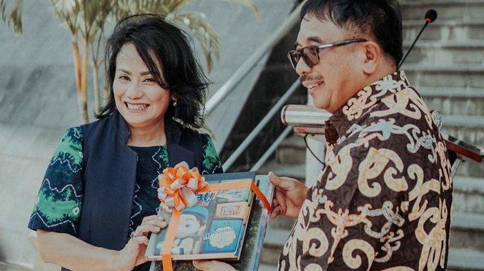 Presiden Direktur Big Bad Wolf Indonesia Uli Silalahi Ungkap Misinya Jual Buku Impor Murah