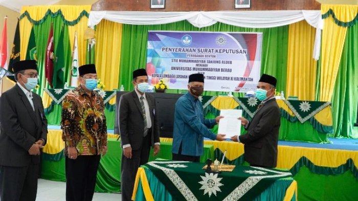 UMB Resmi Terima SK Mendikbud, Pjs Bupati Ramadhan Apresiasi Berdirinya Universitas di Berau