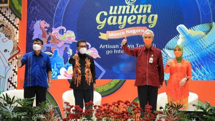 28 Pengusaha Jawa Tengah Ikut Pameran UMKM Gayeng 2021 di Singapura, Ganjar: Tes Produk