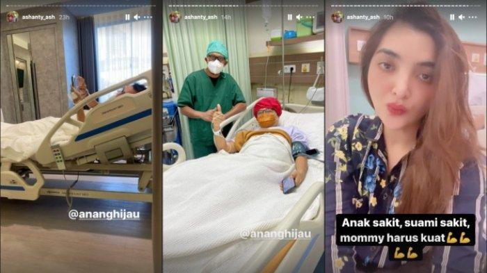 Unggahan Instagram Story Ashanty
