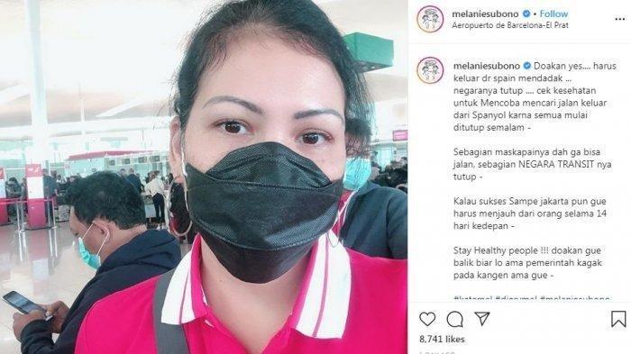 Unggahan Melanie Subono