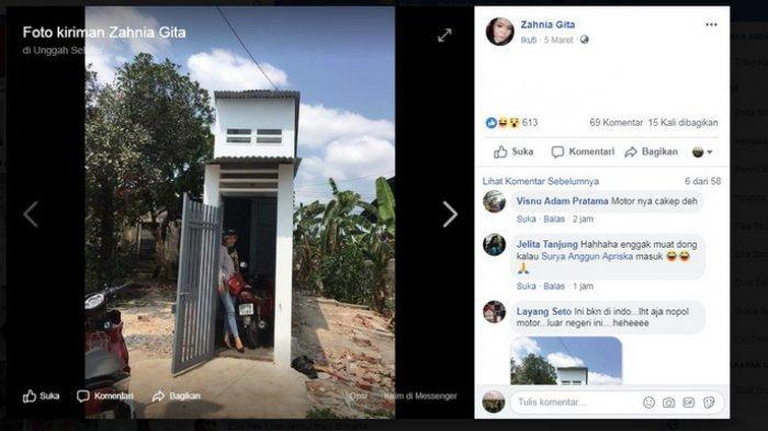 Lokasi 'Rumah Secuil' Akhirnya Terungkap, Rumah Sempit ternyata Punya Fungsi dan Cocok untuk Penulis