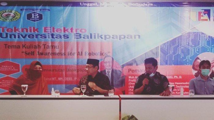 Mahasiswa Malaysia Ikut Kuliah Umum dan Workshop di Universitas Balikpapan