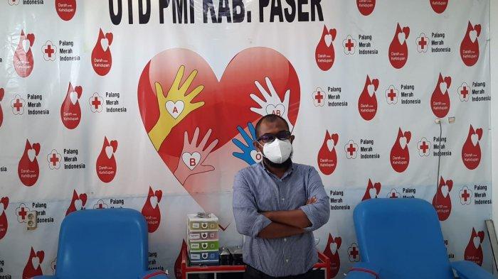 Pasokan Darah Kurang, UDD PMI Cabang Paser Beri Pendonor dengan Parcel