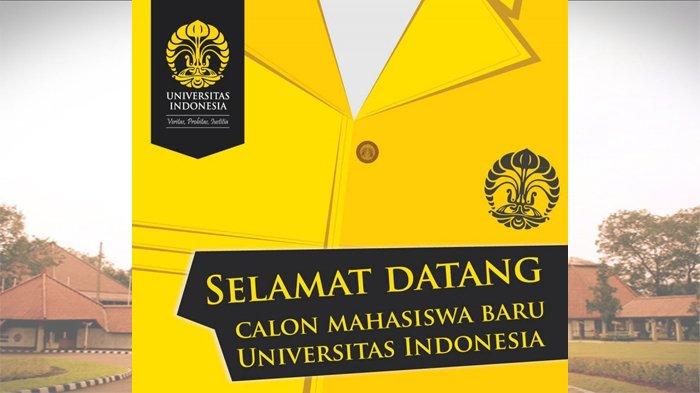 Universitas Indonesia Umumkan Calon Mahasiswa yang Lulus Jalur SNMPTN, Ini Daftar Namanya
