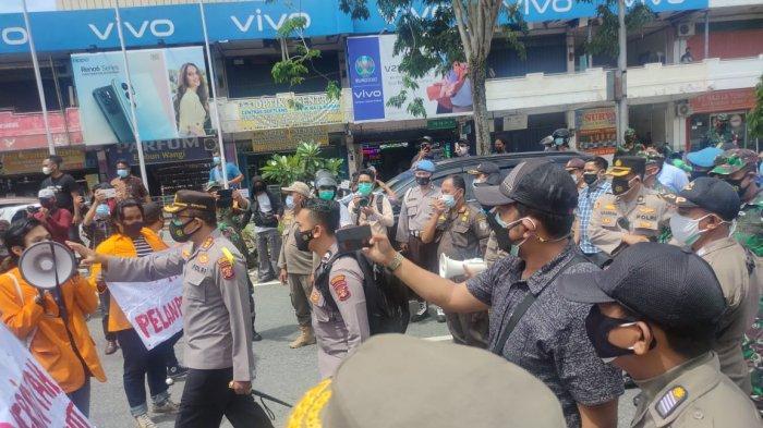 Antisipasi Unjuk Rasa Susulan, Polresta Balikpapan Bakal Rangkul Mahasiswa Tangani Pandemi Covid-19