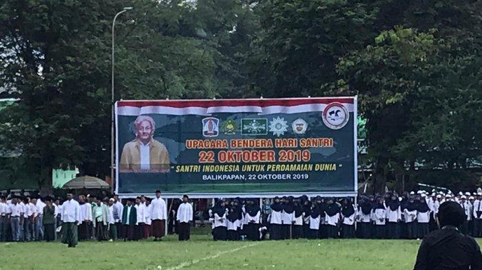 Hari Santri Nasional, Wakil Wali Kota Balikpapan: Nasionalisme Tidak Akan Terpisahkan dari Agama