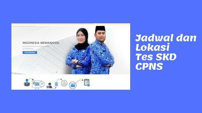 Inilah Jadwal Tes SKD CPNS Kemenkumham, Lokasi Semua Provinsi, Antara Lain Kaltim Jawa Barat Jakarta