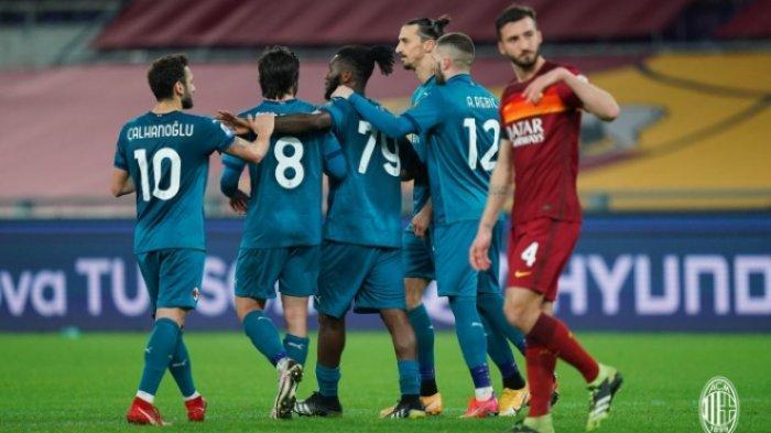 UPDATE Klasemen Liga Italia, AC Milan Masih Belum Bisa Geser Inter, Juventus Tertinggal, Pirlo Marah