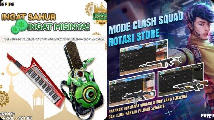 UPDATE Kode Redeem Free Fire 10 April 2021, Booyah Ramadan: Skin Gratis & Misi Sahur, Update Mode FF