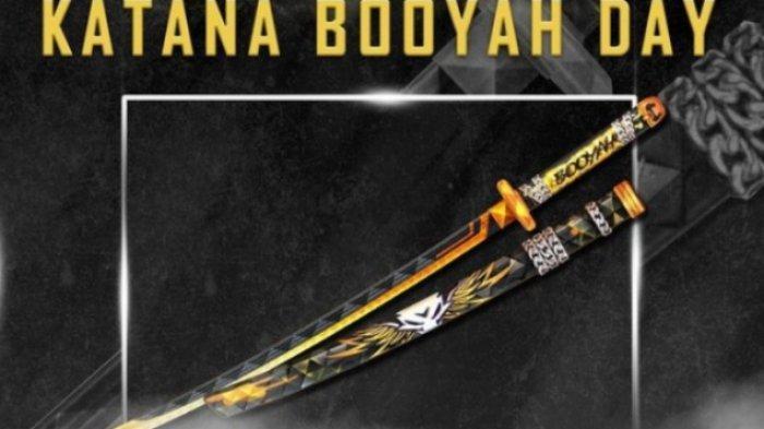 UPDATE Kode Redeem Free Fire 7 Februari 2021, Katana Booyah Day, Siap-siap Cari Teman Dynamic Duo