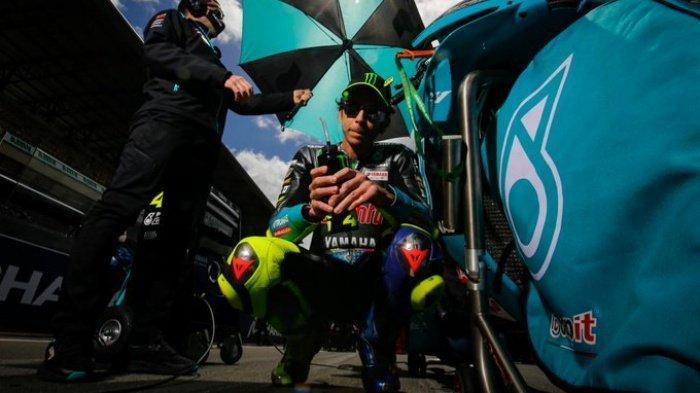 UPDATE Poin MotoGP 2021 & Jadwal Live Trans7, Valentino Rossi Masih Ingin Bisa Balapan di Mandalika