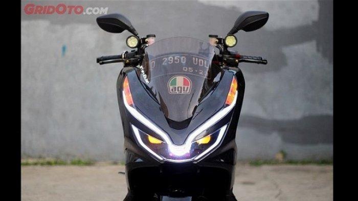 Lampu Honda PCX Berubah Jadi Sangar; Jurusnya Ada di Mitsubishi Pajero dan Toyota Fortuner VRZ