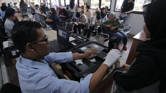 Baru Tahap Pendaftaran CPNS 2019, Antre di Polres Masyarakat Balikpapan Sudah Ramai Urus SKCK