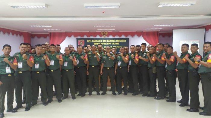 Mantapkan Kemanunggalan TNI - Rakyat, Kodim 0905/Balikpapan Gelar Apel Danramil dan Babinsa